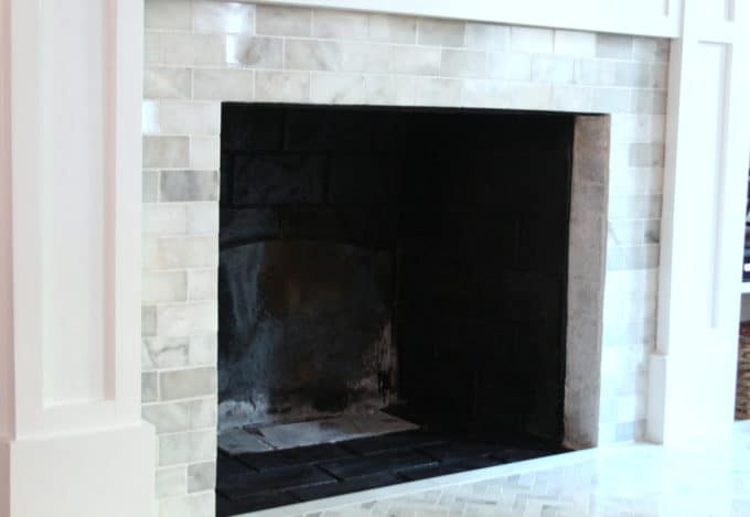 Painting The Interior Of A Fireplace - Shine Your Light