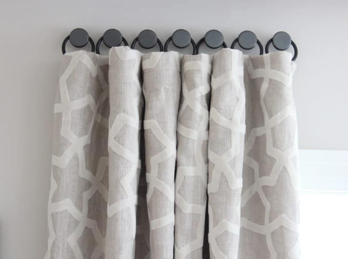 A Solution For Hanging Curtains On Tricky Windows Shine