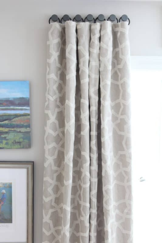 A Solution For Hanging Curtains On Tricky Windows Shine Your Light
