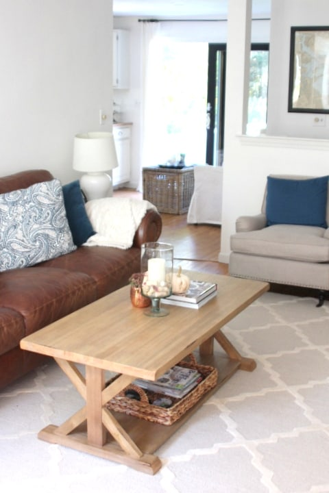 A New Coffee Table For The Family Room Shine Your Light