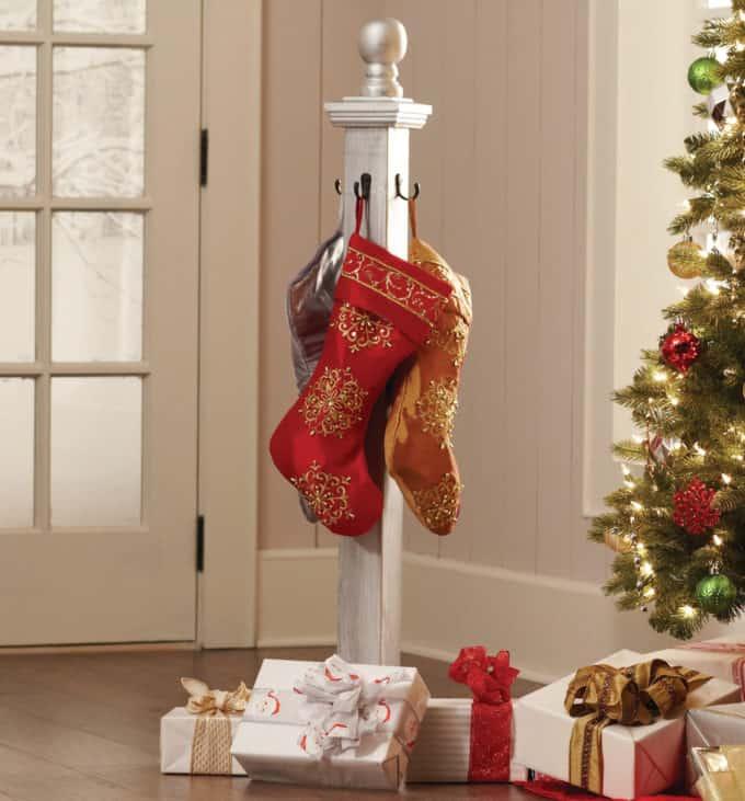 Holiday Stocking Post