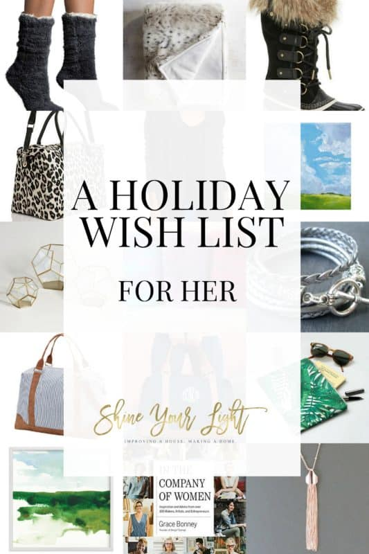 Holiday wish list for her.