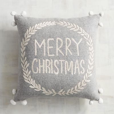 Pier1 Christmas pillow