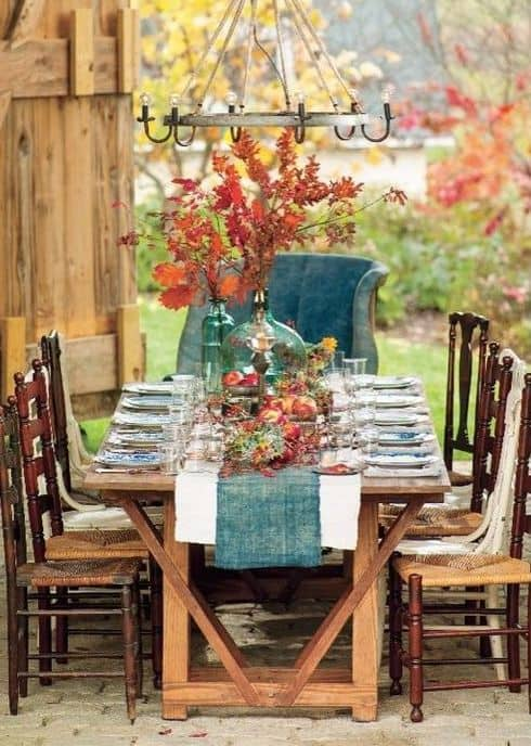 teal-tablescape