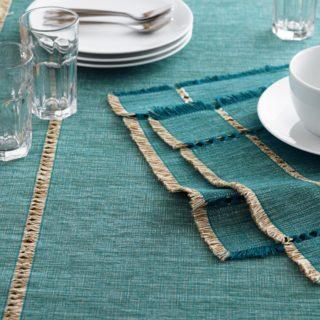 world-market-teal-melange-khadi-table-runner