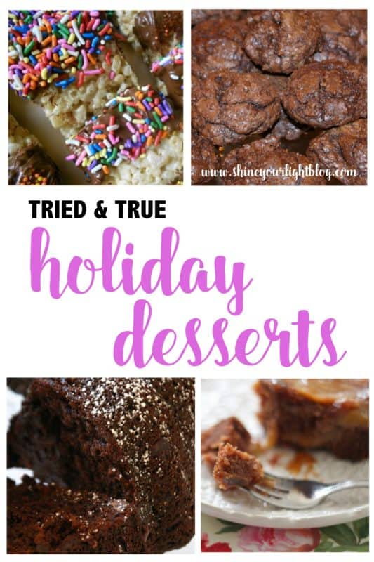 A collection of great desserts for the holidays.