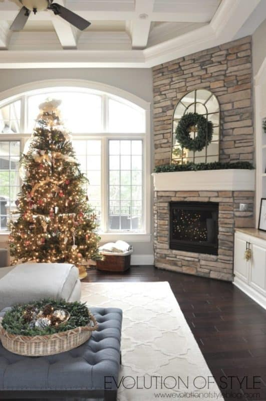 Evolution of Style Blog Christmas home tour 2016