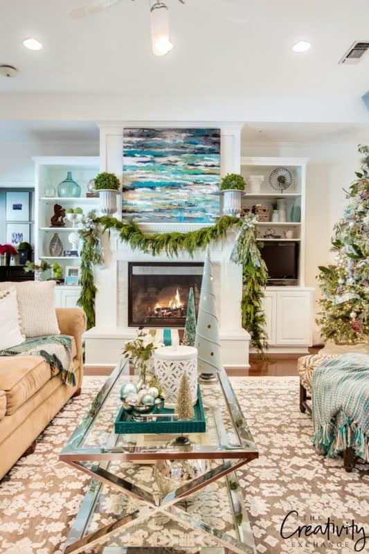 2016 Christmas home tour at The Creativity Exchange blog