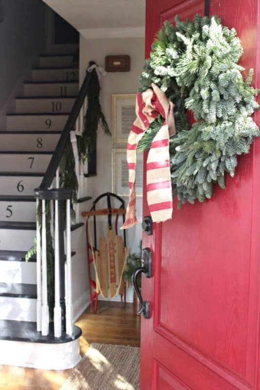Christmas Home Tour at Tale Of An Ugly House blog
