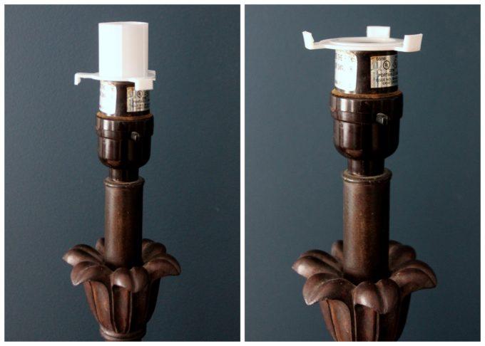 Ikea lampshade adaptors don't work on regular lamp sockets