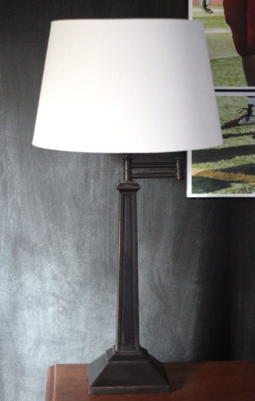 How to fit ikea shades onto non ikea lamps and fix other crooked an ikea lamp shade is retrofitted to work on a target lamp greentooth Image collections