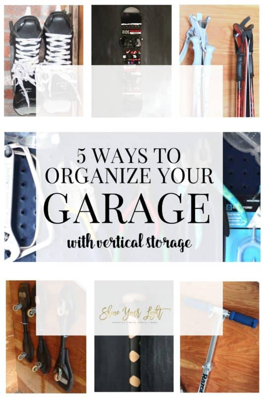 Ideas for taking advantage of wall space in your garage