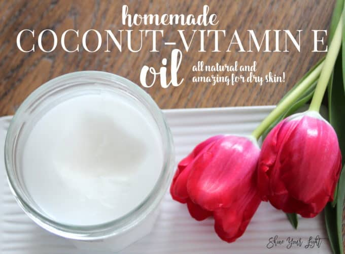 coconut oil with vitamin e and lavender