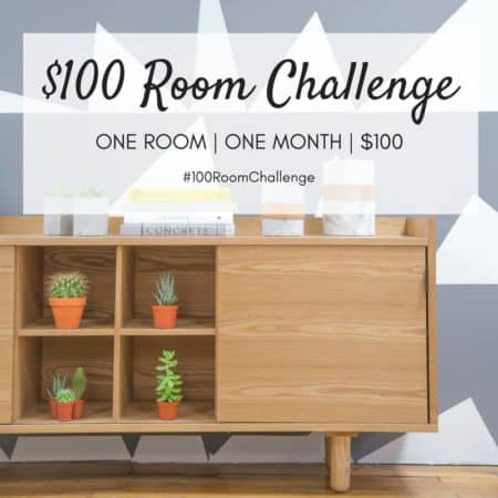 Mudroom Makeover | $100 Room Challenge Week One