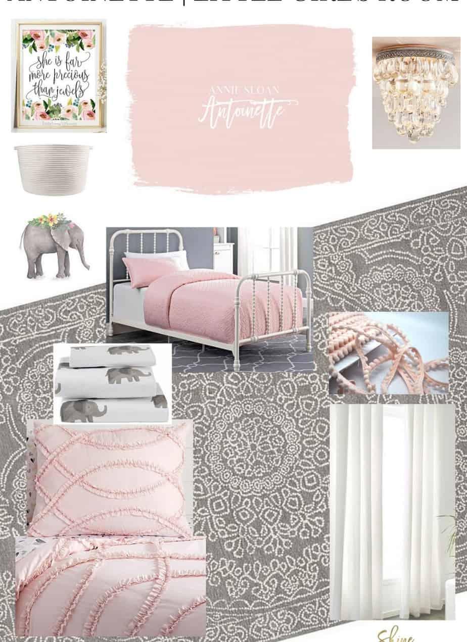 Antoinette Pink | In A Little Girl's Room