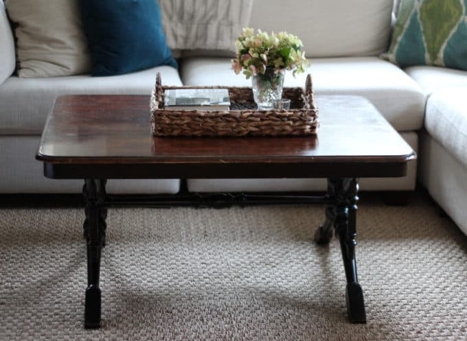 Refinishing A Coffee Table Shine Your Light