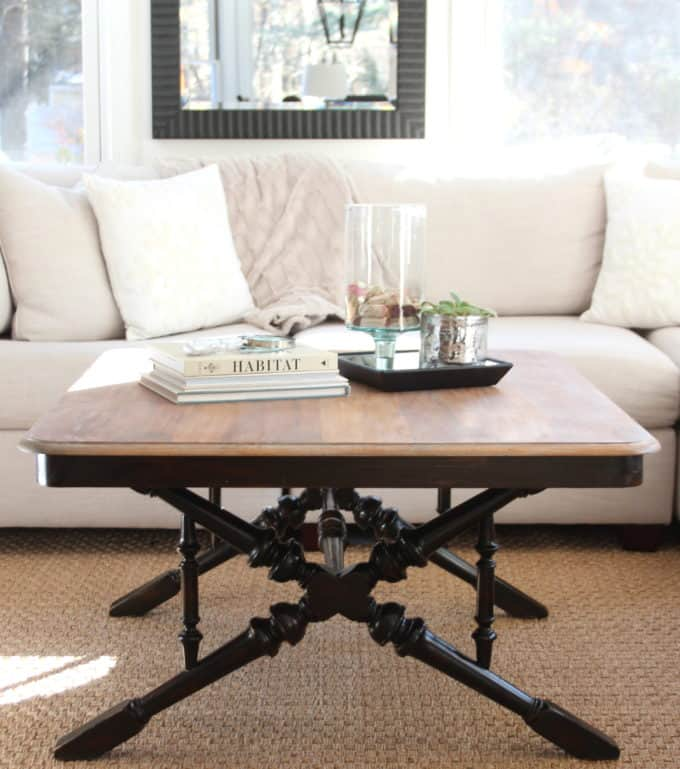 Do You Have A Coffee Table That Has Seen Better Days Consider Refinishing The Top Of It