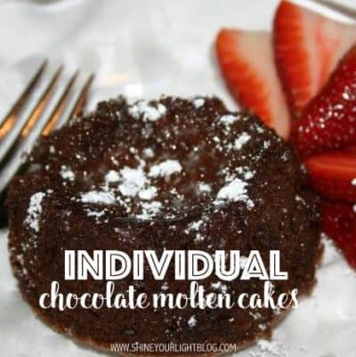 chocolate molten, or lava cakes are rich and decadent.