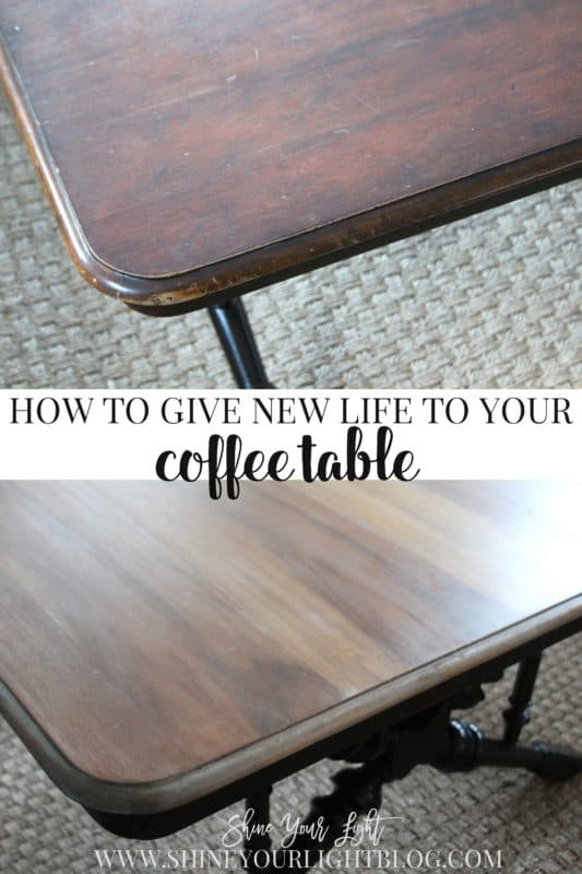 Refinishing A Coffee TableShine Your Light