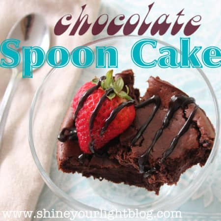 yolk-less low-fat spoon cake