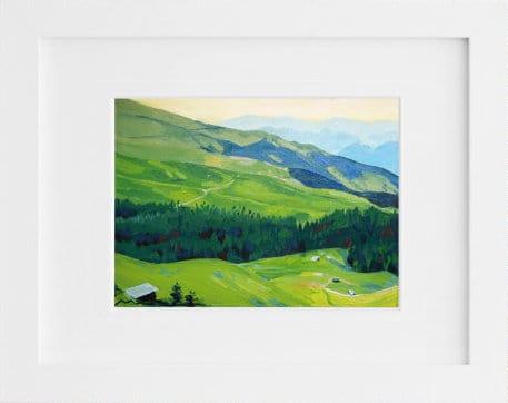 Gorgeous original oil landscape painting by Painting Meg via Etsy.
