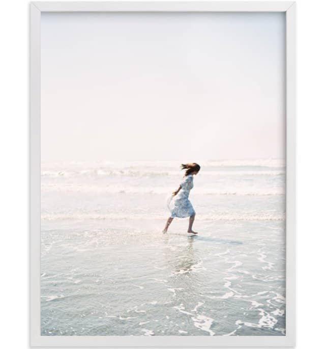 Dreams+Waves print by Jenni Kupelian for Minted.
