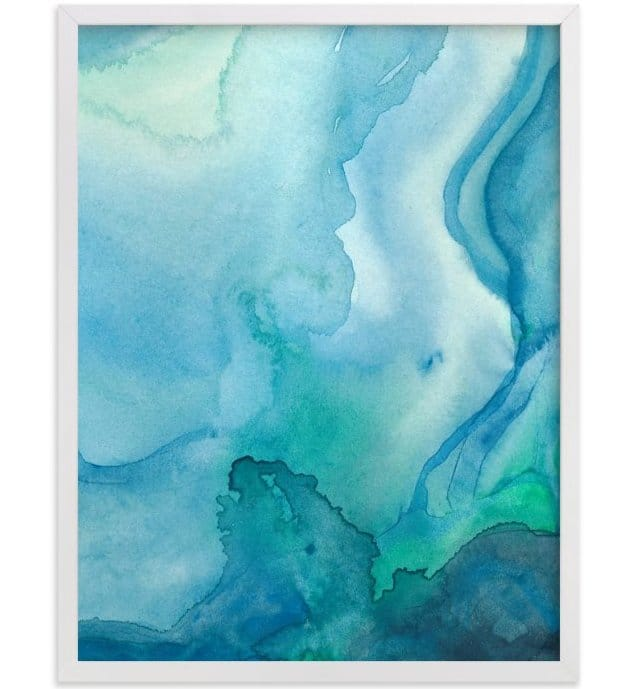 Under Water print by Chelsey Scott via Minted.