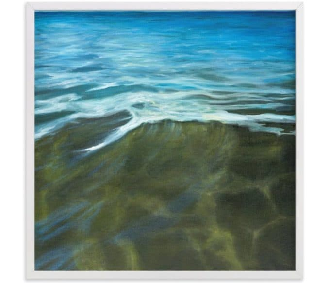Waters Edge print by Becky Kisabeth Gibbs via Minted.