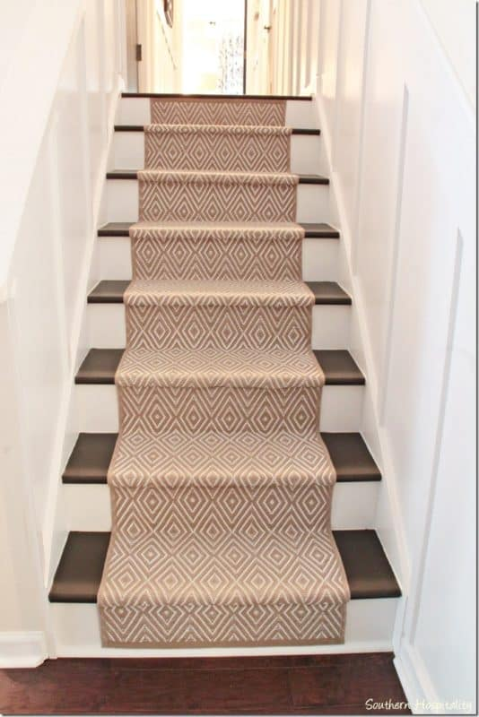 DIY Stairs Renovation by Rhoda at Southern Hospitality