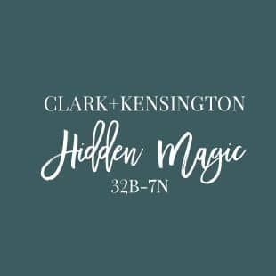 Hidden Magic paint color by Clark + Kensington