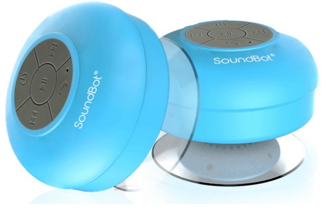 This inexpensive waterproof Bluetooth speaker is great for the shower.