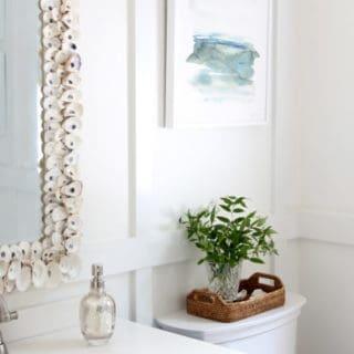 Whole Wall Board & Batten In The Bathroom