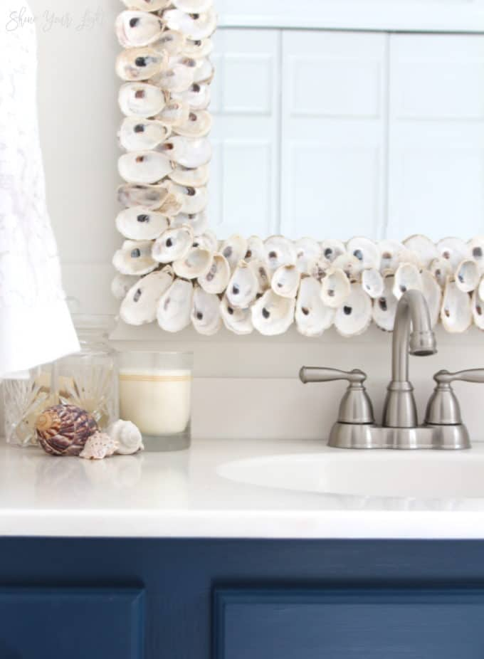 How To Make An Oyster Shell Mirror