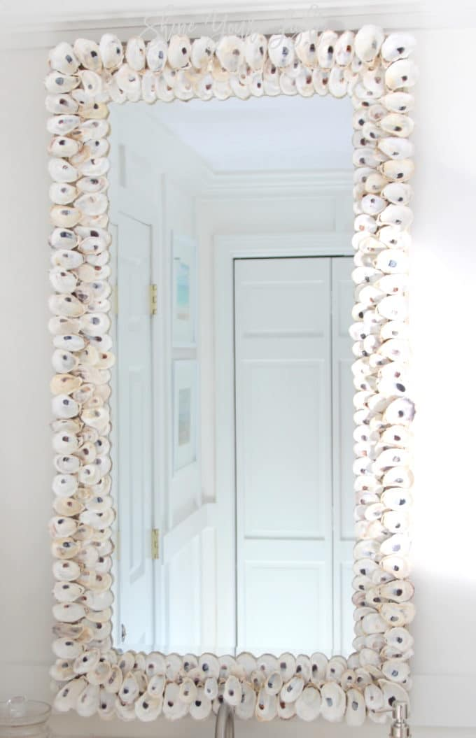 How To Make An Oyster Shell Mirror Shine Your Light