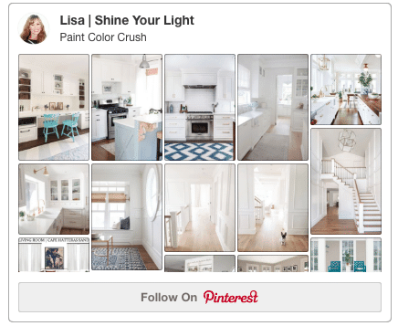 A Pinterest board dedicated to one color each week.