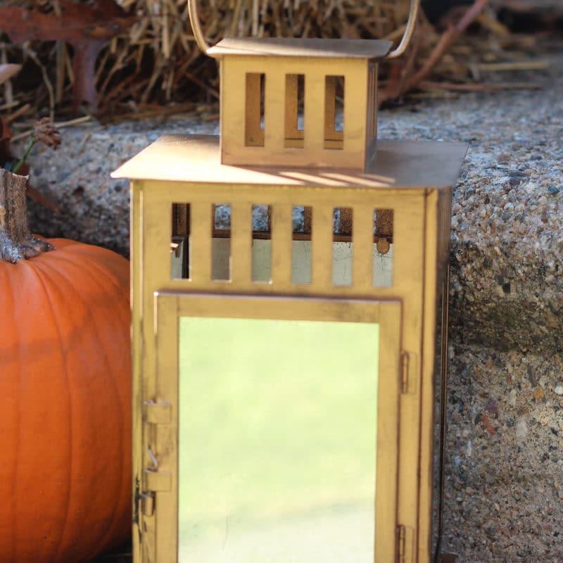 DIY Mirrored Lantern | An Ikea Hack!