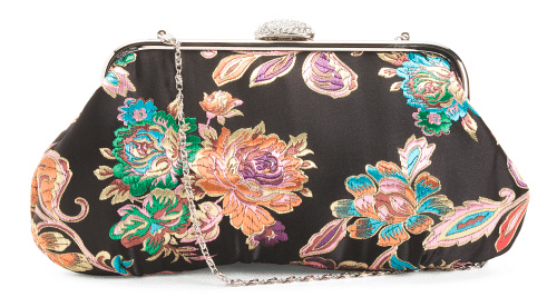 A colorful clutch.