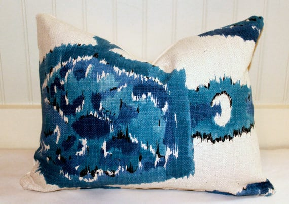 Etsy shop Stitch and Brush sells beautiful pillow covers.