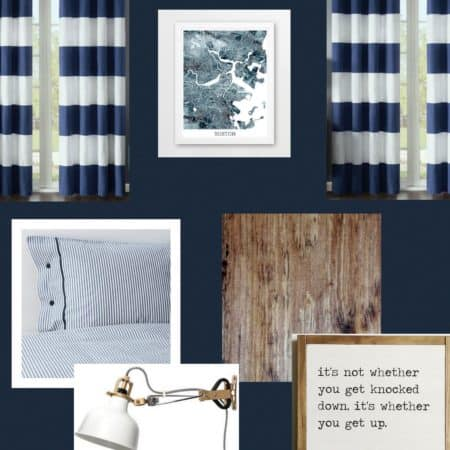 The Next Room Makeover – A Rugged & Refined Teen Boy's Room