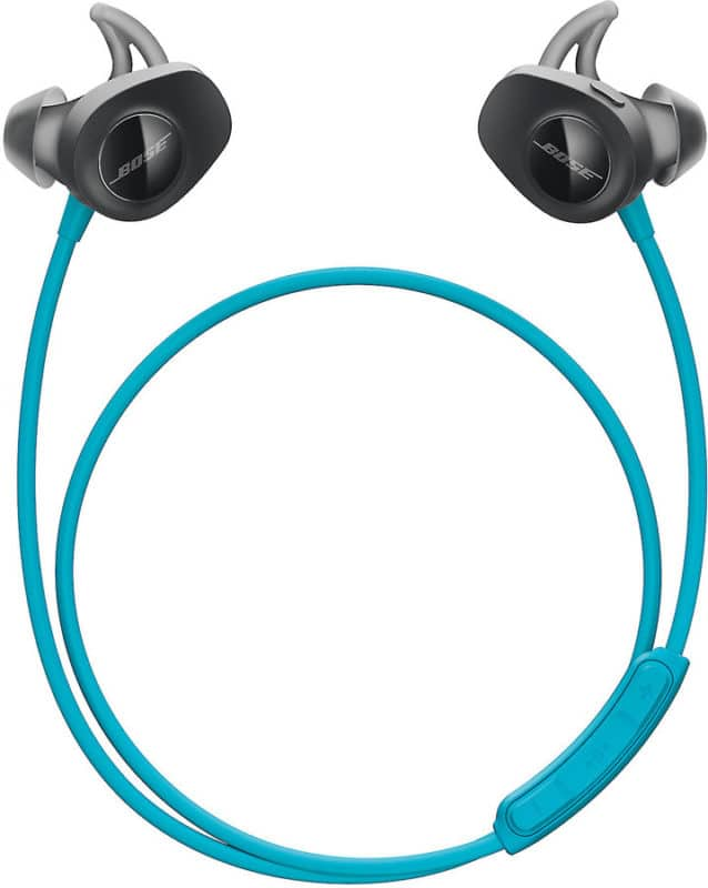 Wireless headphones are great for working out or traveling.