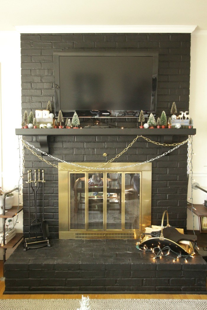Christmas Fireplace by Cassie Bustamante.