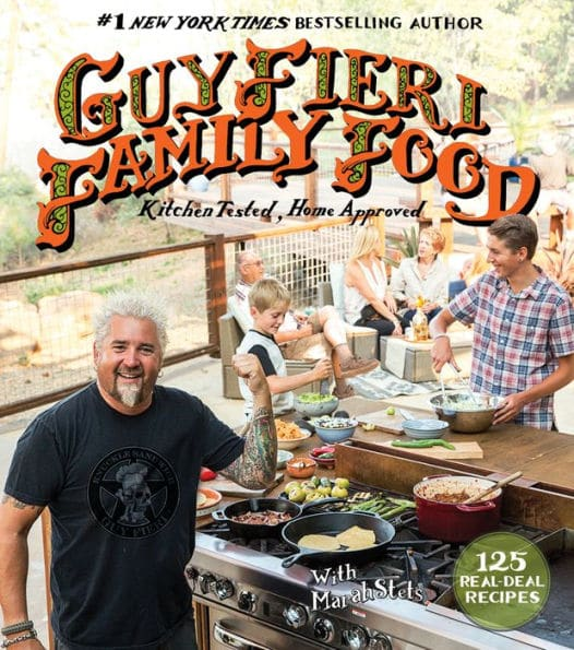 2016 cookbook by Guy Fieri of Diners, Drive-Ins and Dives