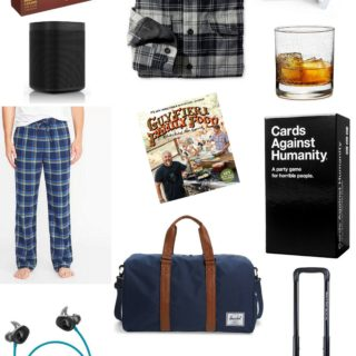 A holiday gift guide for guys.