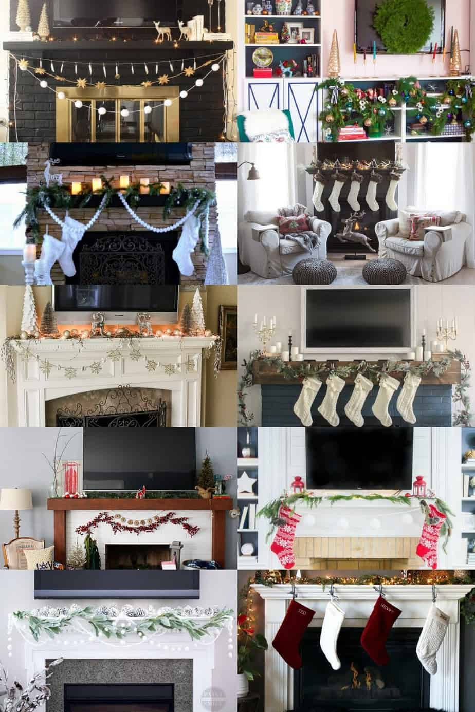 Ideas For Decorating A Mantle With A TV Above It