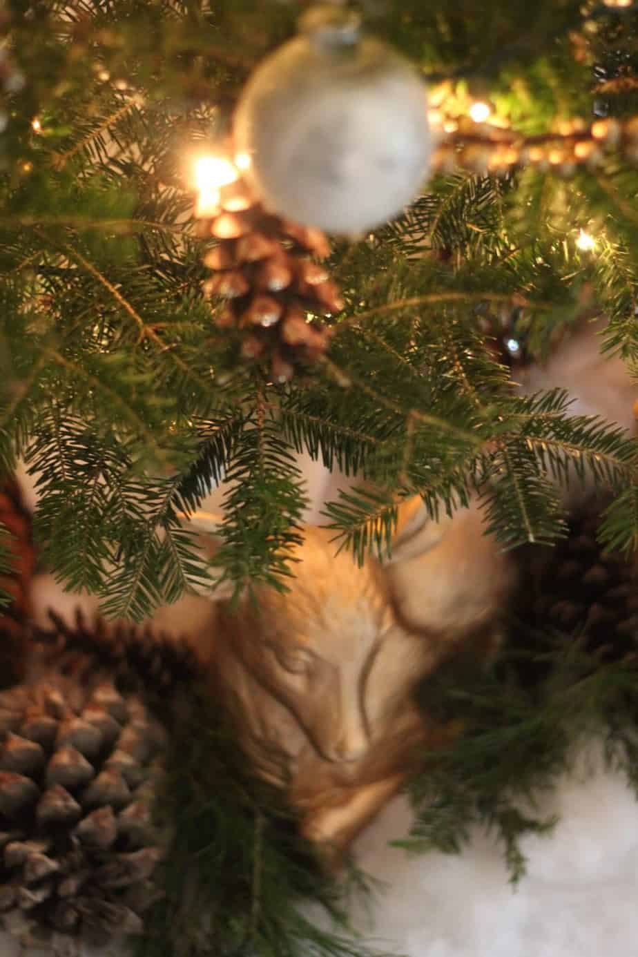 Woodland Christmas tree | Shine Your Light