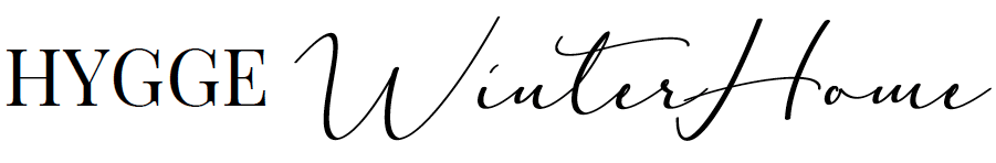 A cozy and warm winter home in the Scandinavian Hygge style.