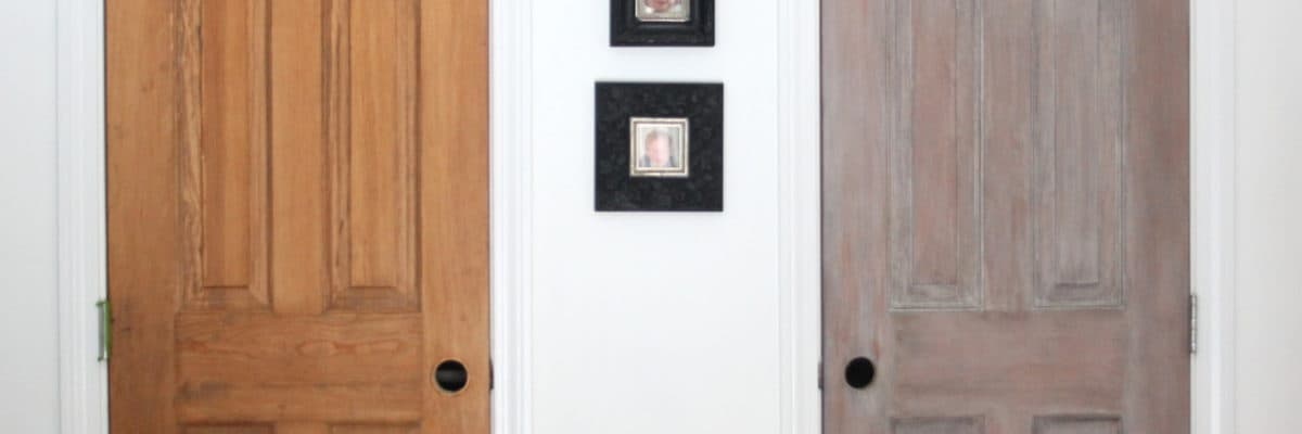 """Trying Out """"Architectural Salvage"""" Pantry Doors"""