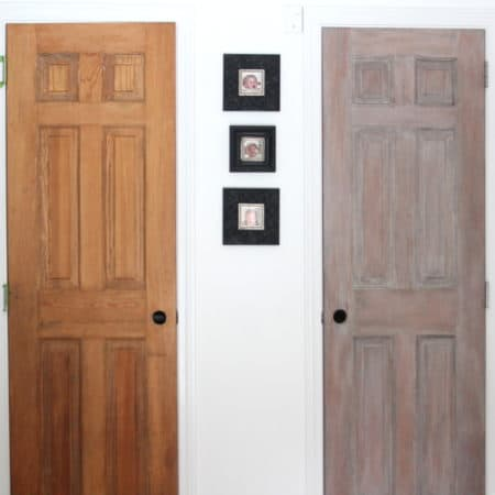 "Trying Out ""Architectural Salvage"" Pantry Doors"