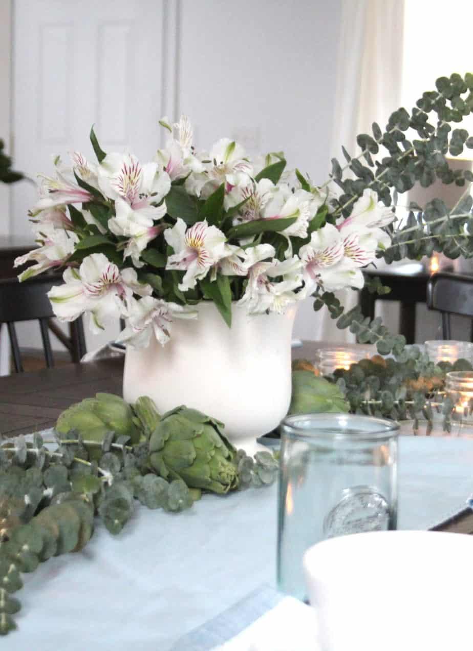 Light & Cozy Living & Dining Room | Bloggers Heart Habitat