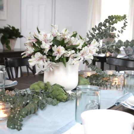 Light & Cozy Living & Dining Room   Bloggers Heart Habitat